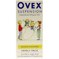 Ovex Suspension - 30ml Family Pack