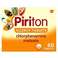Piriton Allergy Tablets - 60 Tablets