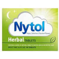 Nytol Herbal tablets - 30 tablets