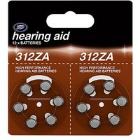 Boots 312ZA Hearing Aid Battery - 12 batteries