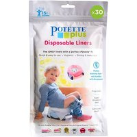 Bibs And Stuff Potette Plus - 30 Pack Liners