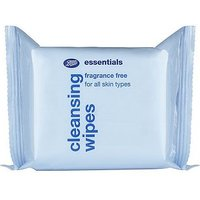 Boots Essentials Fragrance Free Wipes 25s