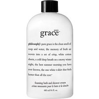 philosophy pure grace foaming bath and shower cream 480ml