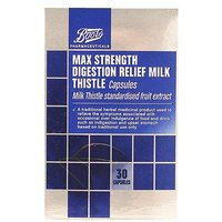 Boots Max Strength Digestion Relief Milk Thistle (30 Capsules)