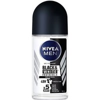 NIVEA MEN Invisible Black & White Anti-Perspirant Deodorant Roll On 50ml