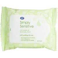 Boots Simply Sensitive Eye Make-Up Removal Pads 30s