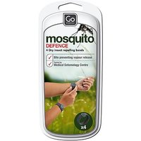 Go Travel Mosquito Defence Wrist Bands 4 Pack 597