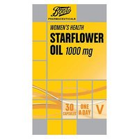Boots Pharmaceuticals STARFLOWER OIL 1000 mg 30 capsules