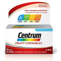 Centrum Fruity Chewables - 30 citrus berry flavoured tablets with sweetener