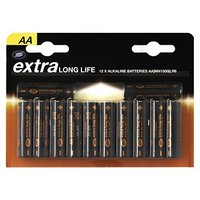 Boots Extra Long Life AA Batteries x12