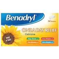 Benadryl One a Day Relief - 14 Tablets