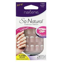Nailene so natural ultra flex pink short
