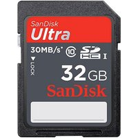 SanDisk 32GB Ultra SD Memory Card