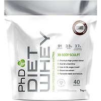 PhD Diet Whey Protein Belgian Chocolate with sweetener - 1kg