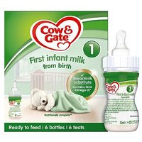 Cow & Gate 1 First Infant Milk from Newborn Starter Pack