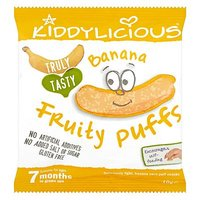 Kiddylicious Banana Fruity Puffs 10g