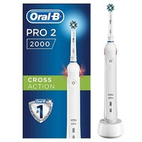 Oral-B Pro 2000 Rechargeable Electric Toothbrush - powered by Braun