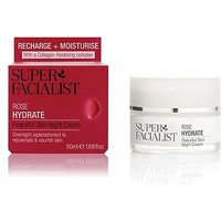 Superfacialist Rose Peaceful Skin Night Cream, 50ml