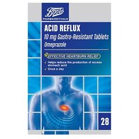 Boots Acid Reflux 10 mg Gastro-Resistant Tablets - 28 Tablets
