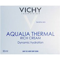 Vichy Aqualia Rich Pot 50ml