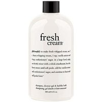 Philosophy fresh cream shampoo, shower gel & bubble bath