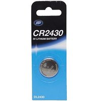 CR2430 3V Lithium Boots Battery x1