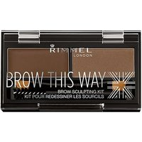 Rimmel Brow This Way Brow Kit middle brown