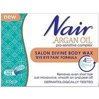 Nair Argan Oil Salon Divine Body Wax