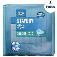 Boots StayDry Slips One Size - 80 Slips (8 Pack Bundle)