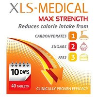 XLS-Medical Max Strength - 40 Tablets (10 Day Supply)