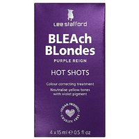 Lee Stafford Bleach Blondes Hot Shots 4 x 15ml