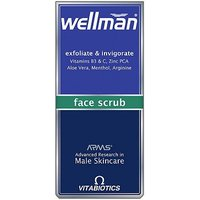 Wellman Exfoliate and Invigorate Face Scrub 75ml