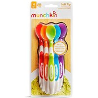 Munchkin 6 Soft-Tip Infant Spoons 4m+