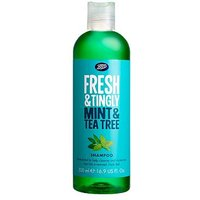 Boots Fresh Teatree & Mint Shampoo 500ml