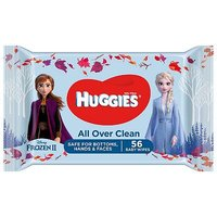 Huggies Baby Wipes Singles Disney 56s