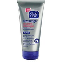 Clean & Clear Advantage Oil Control Cream Wash150ml