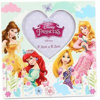 Disney Princess Heart Photo Frame ith Belle, Ariel, Rapunzel and Aurora - 9.5 x 8.5