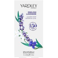 Yardley English Lavender 3 X 100g Soap