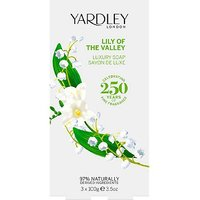 Yardley Lily of the Valley 3 X 100g Soap