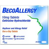 BecoAllergy 10mg Tablets - 30 Tablets