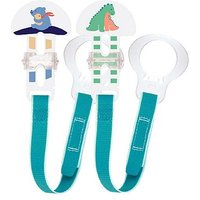 MAM Soother Clips - Blue