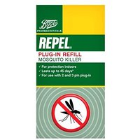 Boots Pharmaceuticals Repel Mosquito Killer Plug-In Refill - 45ml