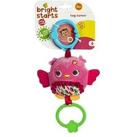 Bright Starts Pretty In Pink Tug Tunes Toy