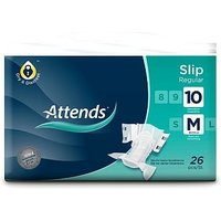 Attends Slip Regular 10 Medium - 26 slips
