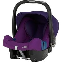 Britax Rmer BABY-SAFE PLUS SHR II Group 0+ Car Seat - Mineral Purple