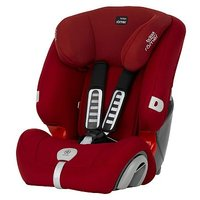 Britax Rmer EVOLVA 1-2-3 PLUS Car Seat Flame Red