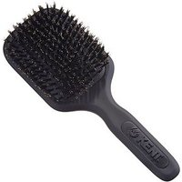 Kent Brushes AirHedz Medium pure bristle paddle brush black AH13G