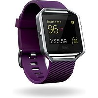 Fitbit Blaze Fitness Super Watch - Plum/Silver (Small)