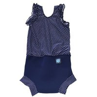 Splash About Swimming Happy Nappy Costume Navy (X Large) 12-24 Months