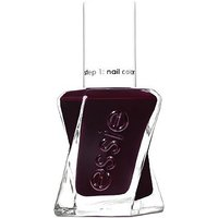 essie Gel Couture 370 Model Clicks Dark Red Nail Polish